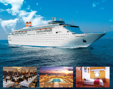 2 night cruise to Bahamas on the Grand Classica