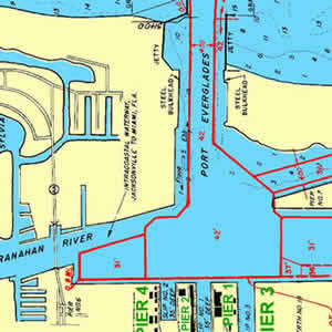directions to port everglades google map and port map of fort